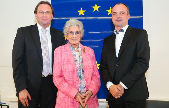 Benedikt Weingartner, Lotte Tobisch-Labotyn, Georg Pfeifer,