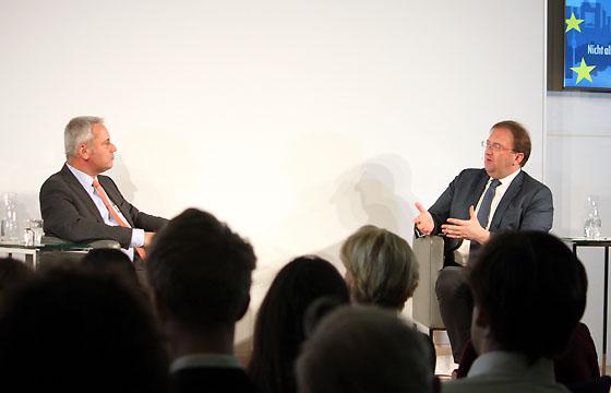 Peter Fritz und Benedikt Weingartner in Europa : DIALOG