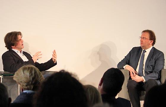 Thomas Mayer & Benedikt Weingartner im Haus der EU, Wien