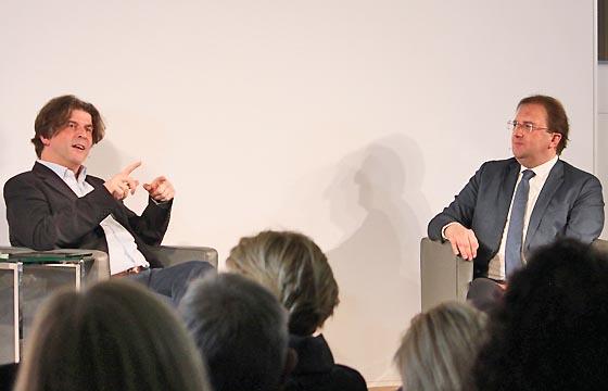 Europa Dialog mit Thomas Mayer und Benedikt Weingartner