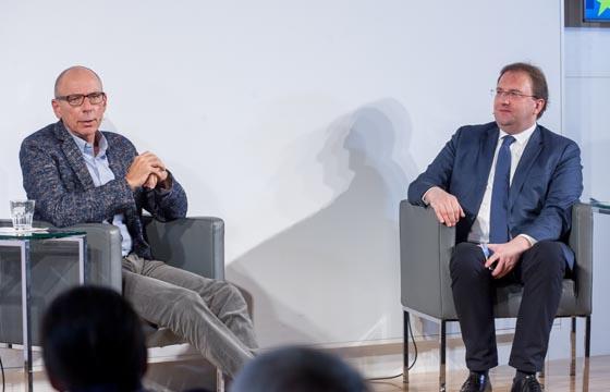 Martin Stricker und Benedikt Weingartner in Europa : DIALOG im Haus der EU, Wien