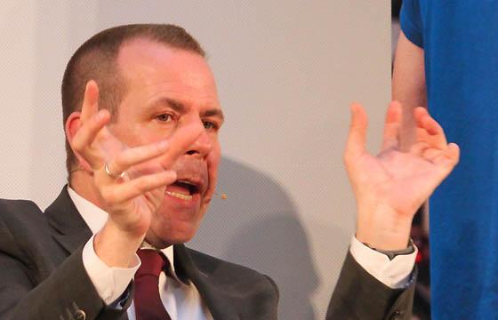 Harald Vilimsky, EU-Spitzenkandidat der FPÖ