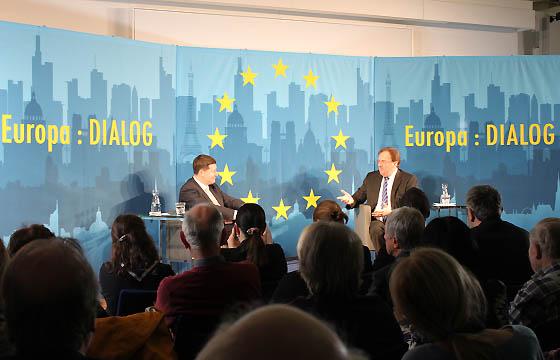 Martin Selmayr - Benedikt Weingartner in Europa :DIALOG