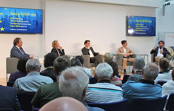 Europa : DIALOG plus mit Britta Hilpert, Rainer Nowak, Ivo Mijnssen und Thomas Mayer