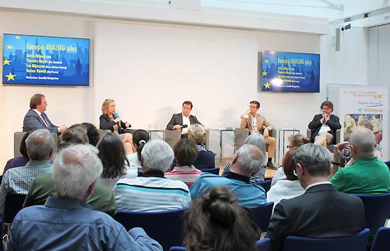 Europa : DIALOG plus mit Benedikt Weingartner im Haus der EU, Wien
