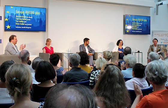 Europa : DIALOG plus mit Benedikt Weingartner