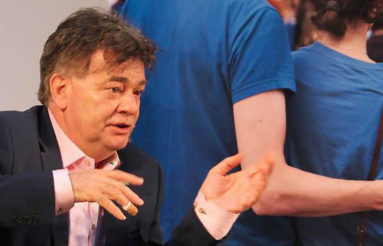 Werner Kogler, EU-Spitzenkandidat der Grünen