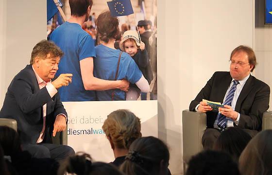 Werner Kogler und Benedikt Weingartner in Europa : DIALOG