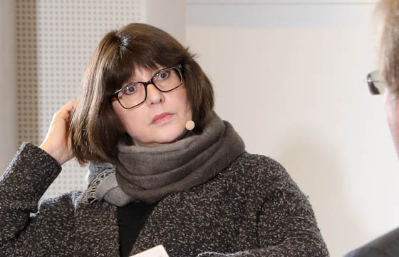 Margaretha Kopeinig im Haus der EU / Wien