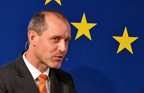 J. Wojahn im Haus der EU