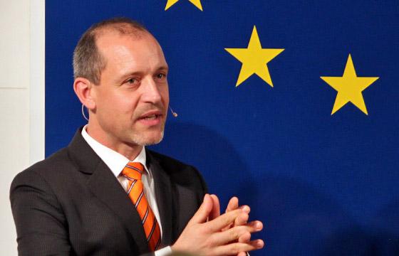 Jörg Wojahn im Haus der EU - Wien