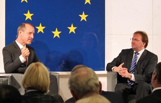 Jörg Wojahn & Benedikt Weingartner im Europa : DIALOG