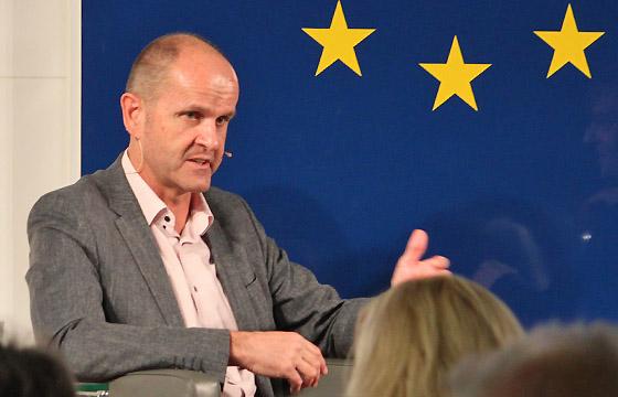 Gerald Mandlbauer in Europa : DIALOG im Haus der Europäischen Union, Wien