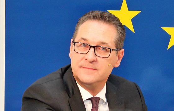 HC Strache - Vizekanzler; FPÖ