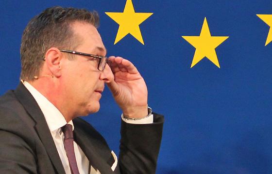 Nachdenklich: H.C. Strache, FPÖ