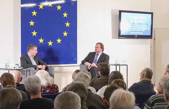 Wolfgang Böhm - Benedikt Weingartner in Europa : DIALOG