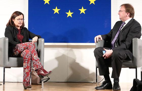Esther Mitterstieler & Benedikt Weingartner in Europa im Dialog
