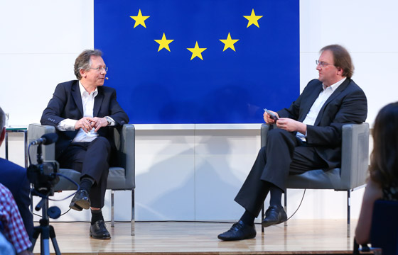 Doron Rabinovici & Benedikt Weingartner in Europa : DIALOG