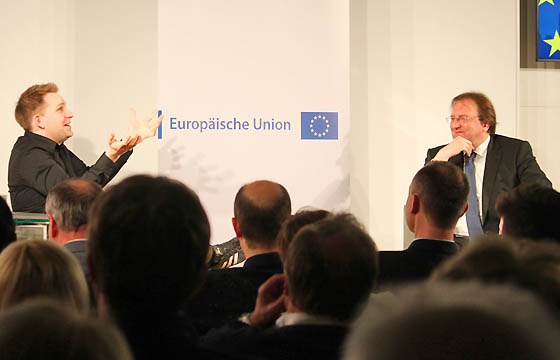 Max Schrems - Benedikt Weingartner in Europa : DIALOG: DSGVO 2.0 !!!