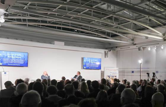 Wolfgang Mazal im Haus der Europäischen Union, Wien