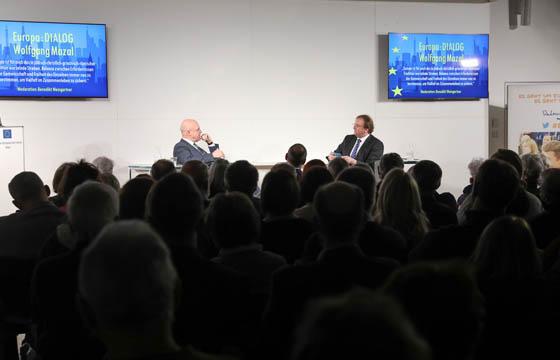 Wolfgang Mazal und Benedikt Weingartner in Europa : DIALOG