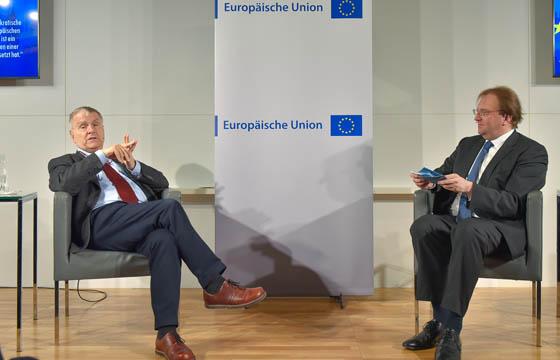 Anton Pelinka und Benedikt Weingartner