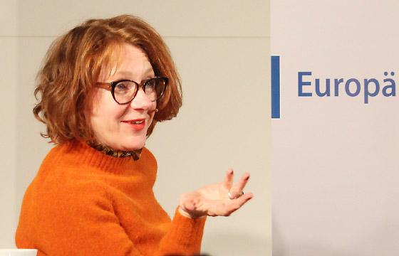 Ulrike Guérot im Haus der Europäischen Union, Wien