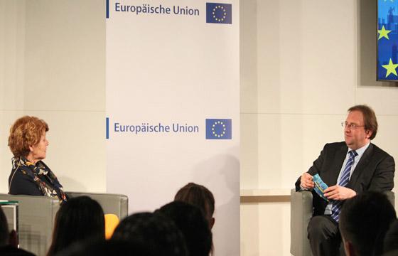 Europa : DIALOG mit Margaretha Maleh. Moderation: Benedikt Weingartner