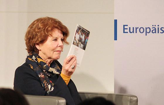 Margaretha Maleh im Haus der EU