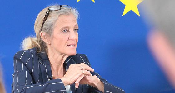 Kathrin Zechner im Haus der Europäischen Union