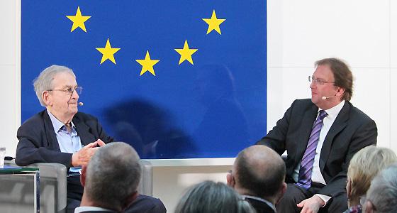 Ari Rath & Benedikt Weingartner im Europa:Dialog im Haus der EU-Wien