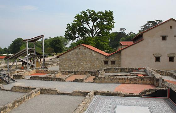 Römerstadt Carnuntum - Ausgrabungen um das Haus des Lucius
