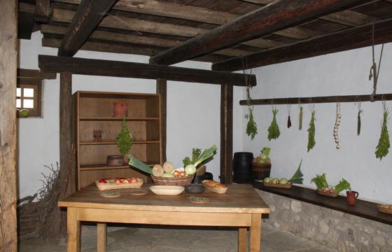 Carnuntum - Römische Stadtviertel - Küche