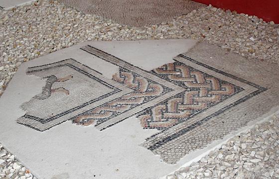 Domus quarta - Boden-Mosaik