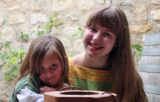 Carnuntum 333: Junge Römerinnen