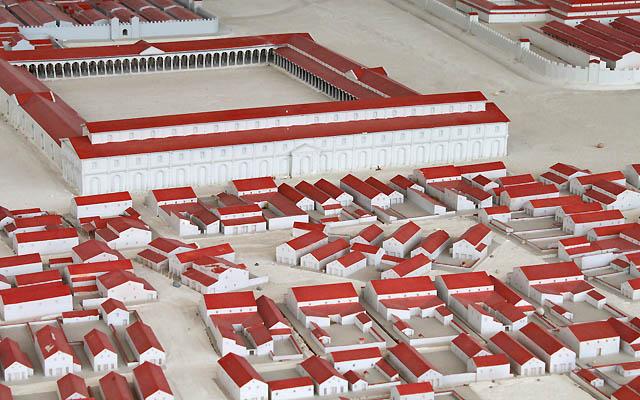 Römersiedlung Carnuntum - Modell