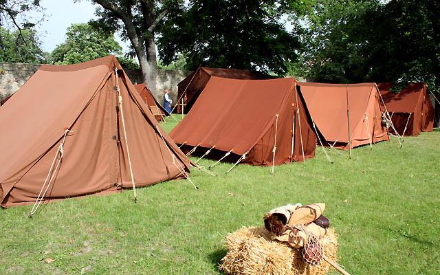 Römerlager in der Römersiedlung Carnuntum