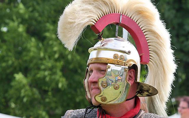 Römischer Feldherr ... oder Zenturio?