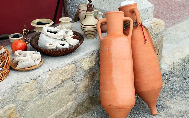Handelswaren: Die Römer waren geschickte Händler