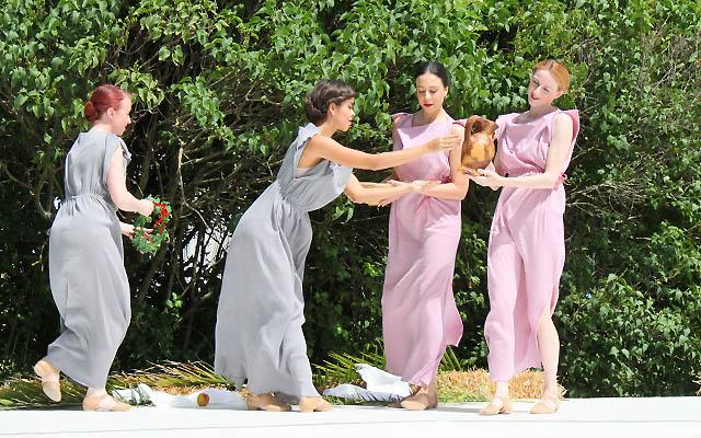 Römischer Tanz - Tänzerinnen