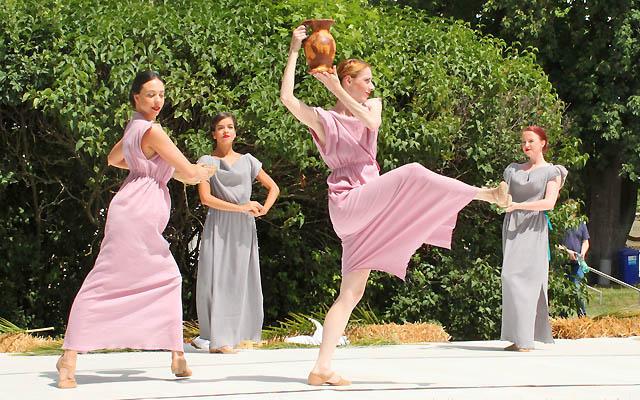 Tänzerinnen in der Spätantike