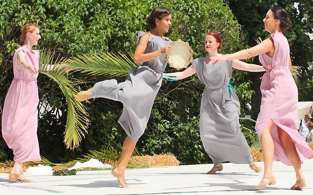 Tänerzinnen in der Antike - Junge Römerinnen
