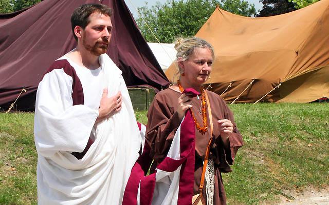 So sieht ein römischer Bräutigam aus ...