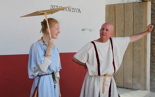 Römer: Flirten in der Antike