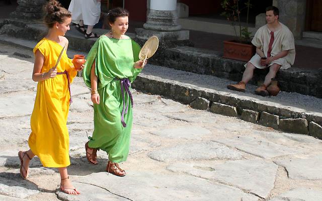 Schicke Fummel: Römische Mode im römsichen Stadtviertel