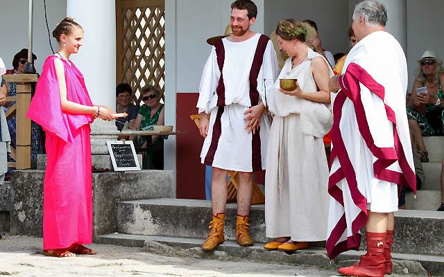 Römische Hochzeitszeremonie