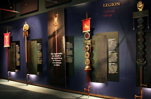 Carnuntum: Schauraum - Infomaterial über Legionen, Legionäre, Soldaten ...