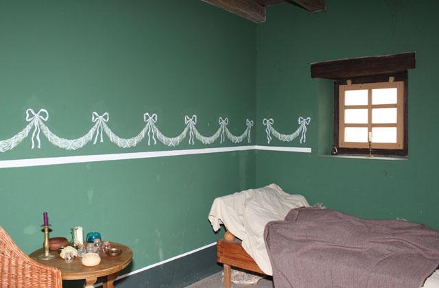 Carnuntum: Grünes Zimmer - Römische Innenarchitektur