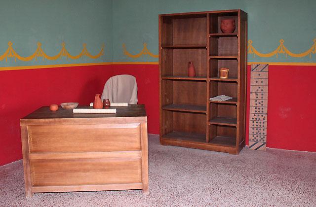 Römisches Büro - Antike Inneneinrichtung