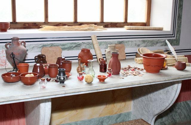 Wellness in der Antike: Balsam, Öle, Essenzen.